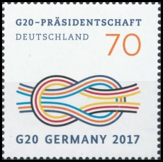 FRG MiNo. 3291 ** G20 Presidency of Germany, MNH