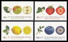 FRG MiNo. 2769-2772 ** Welfare 2010: Fruit, MNH
