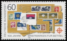 FRG MiNo. 1395 ** 100 years Stamp fundraiser for Bethel, MNH