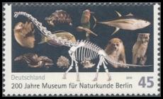 FRG MiNo. 2775 ** 200 years Museum of Natural History in Berlin, MNH