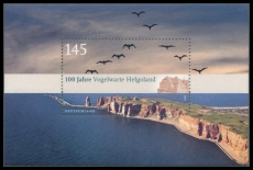 FRG MiNo. Block 77 (2792) ** 100 years Ornithological Helgoland, Miniature sheet, MNH