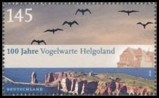 FRG MiNo. 2792 ** 100 years Ornithological Helgoland, MNH, from block 77