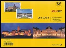 FRG MiNo. FB 67 (3311-3312) ** Castles, foil sheet, self-adhesive, MNH