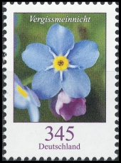 FRG MiNo. 3324 ** Series Flowers: forget-me-not, MNH