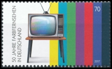 FRG MiNo. 3329 ** 50 years colour television in Germany, MNH