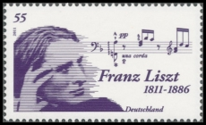 FRG MiNo. 2845 ** 200th birthday of Franz Liszt, MNH