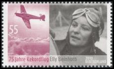 FRG MiNo. 2814 ** 75th anniversary of the record flight Elly Beinhorn, MNH