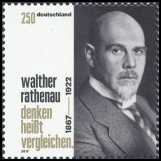 FRG MiNo. 3333 ** 150th birthday Walther Rathenau, MNH