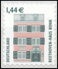 FRG MiNo. 2348 ** Places of interest, self-adhesive, from business bow, MNH