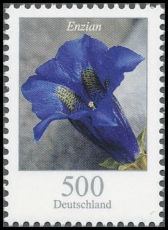 FRG MiNo. 2877 ** Flowers (XXII): Gentian, MNH