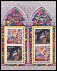 FRG MiNo. Block 56 (2226-2227) ** Christmas 2001, sheetlet, MNH