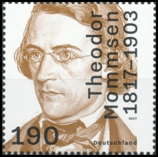 FRG MiNo. 3343 ** 200th birthday Theodor Mommsen, MNH