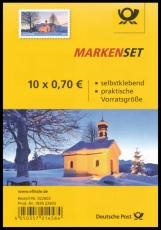 FRG MiNo. FB 71 (3346) ** Christmas chapel, foil sheet, self-adhesive, MNH