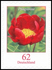 FRG MiNo. 3121 ** Duration series flowers: peony, MNH, self-adhesive