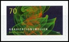FRG MiNo. 3356 ** gravitational waves, MNH, self-adhesive