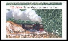 FRG MiNo. 2916 ** 125 years Harz narrow-gauge railways, MNH, self-adhesive