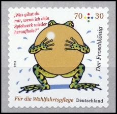 FRG MiNo. 3364 ** Welfare 2018: The Frog Prince, MNH, self-adhesive