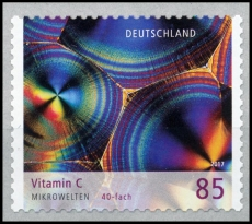 FRG MiNo. 3362 ** Series Microworlds: Vitamin C, MNH, self-adhesive