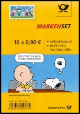 FRG MiNo. FB 74 (3372) ** Peanuts rattle gang, foil sheet, self-adhesive, MNH