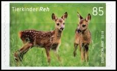 FRG MiNo. 3377 ** Series Animal Children: Deer, self-adhesive, MNH