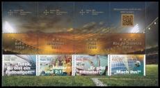 FRG MiNo. 3380-3383 se-tenant printing ** Legendary football games, MNH