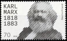 FRG MiNo. 3384 ** 200th birthday Karl Marx, MNH