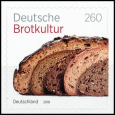FRG MiNo. 3390 ** German bread culture, self-adhesive, MNH