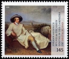 FRG MiNo. 3393 ** Johann Heinrich W. Tischbein: Goethe in the Campagna, MNH