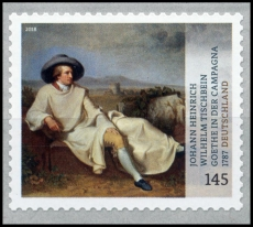 FRG MiNo. 3397 ** Treasures from German Museums: Goethe, self-adhesve, MNH