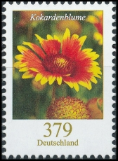 FRG MiNo. 3399 ** Permanent series flowers: cockade flower, MNH