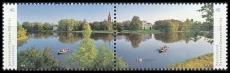 FRG MiNo. 3401/3402 set ** Series panoramas: Garden Kingdom Dessau-Wörlitz, MNH