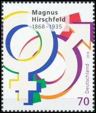 BRD MiNr. 3403 ** 150. Geburtstag Magnus Hirschfeld, postfrisch