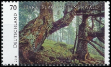 FRG MiNo. 3410 ** Series Wild Germany: Harz mountain spruce jungle, MNH