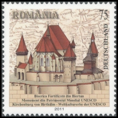 FRG MiNo. 2889 ** UNESCO World Heritage: Fortified Church of Biertan, MNH