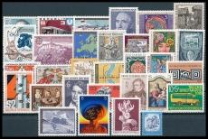 Austria year 1978 ** MiNo. 1566-1596 completely, MNH