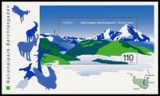 FRG MiNo. Block 47 (2046) ** Europe 1999 Nature & national parks, sheetlet, MNH