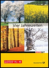 FRG MiNo. MH  65 (2574-2577) ** Post: The 4 seasons, stamp set, self-adh., MNH