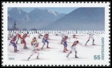 FRG MiNo. 2912 ** Biathlon World Championships in Ruhpolding, MNH