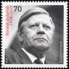 FRG MiNo. 3429 ** 100th birthday Helmut Schmidt, MNH