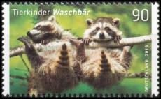 FRG MiNo. 3434 ** Series Animal Children: Raccoon, MNH