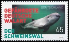 FRG MiNo. 3436 ** The porpoise - endangered German whale species, MNH
