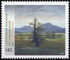 FRG MiNo. 3433 ** Series Treasures from German museums: the lonely tree, MNH