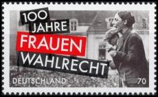 FRG MiNo. 3435 ** 100 years of womens suffrage, MNH