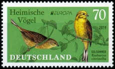 FRG MiNo. 3463 ** Series Europe 2019: Native Birds - Yellowhammer, MNH