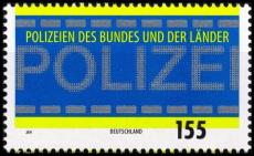 FRG MiNo. 3480 ** police of the federation and the countries, MNH