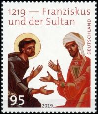 BRD MiNr. 3498 ** 1219 - Franziskus und der Sultan, postfrisch
