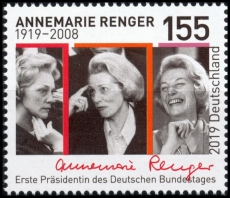 FRG MiNo. 3499 ** 100th birthday Annemarie Renger, MNH