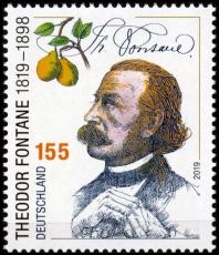 FRG MiNo. 3508 ** Theodor Fontanes 200th birthday, MNH