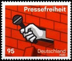 FRG MiNo. 3515 ** Freedom of the press, MNH