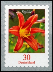FRG MiNo. 3516 ** Permanent series of flowers: day lily, self-adhesive, MNH